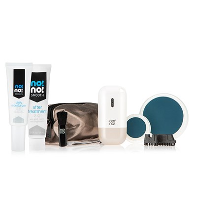no!no! Micro Hair Removal Collection with Smooth 2.0 After Treatment 59ml, NEW Daily Moisturiser, Travel Case and Small Buffer