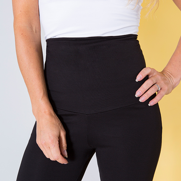 Emelia Slimming High Waist Shaping Pants in Black Size  X Large