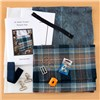 M Adams Designs Morgan Cross Over Body Bag Making Kit, Holyrood Tartan Tweed Despatched from 7th May