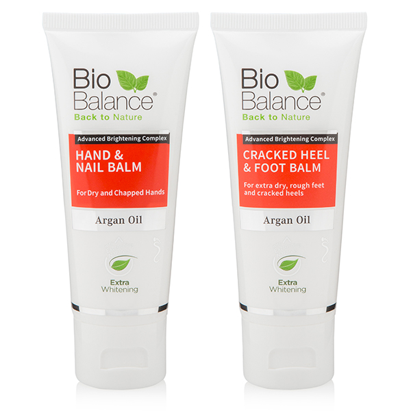 Bio Balance Cracked Heel Balm & Hand and Nail Cream No Colour