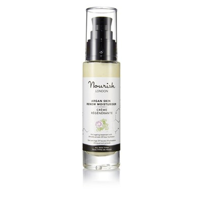 Nourish London Argan Skin Renew Moisturiser 50ml