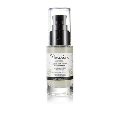 Nourish London Argan Anti-Aging Peptide Serum 30ml