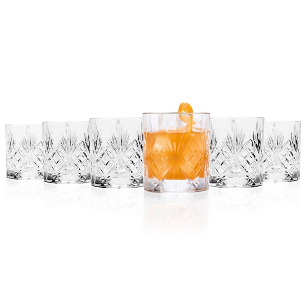 RCR Melodia Whisky Glasses (6 Pack) No Colour