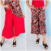 Nicole 2 Pack Print and Plain Culotte