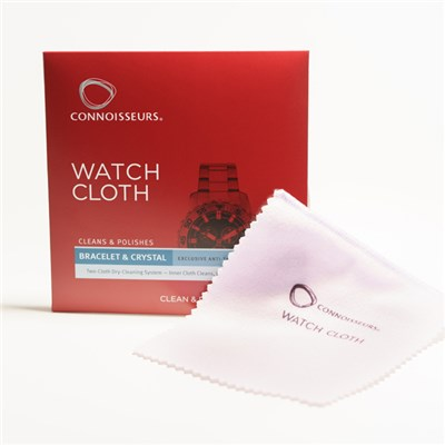 Connoisseurs Watch Cleaning Cloth