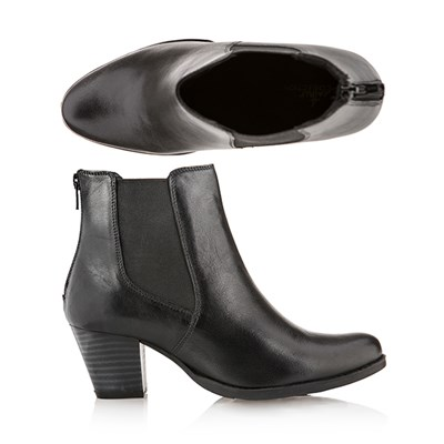 Leather Collection Ankle Boot