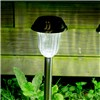 Duracell Solar LED Garden Pathway Lights Stainless Steel Set of 4