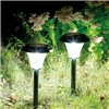 Duracell Solar LED Garden Pathway Lights Large 2 Pack