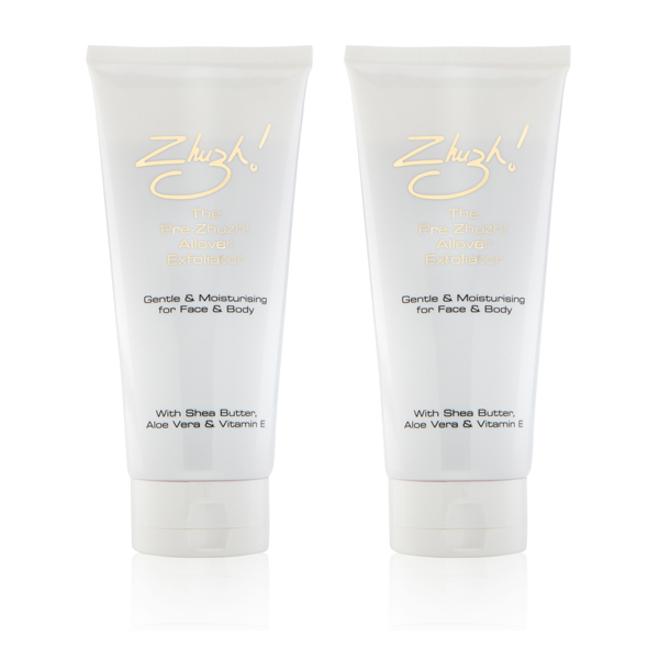 Pre Zhuzh! Exfoliator 200ml (Twin Pack) No Colour