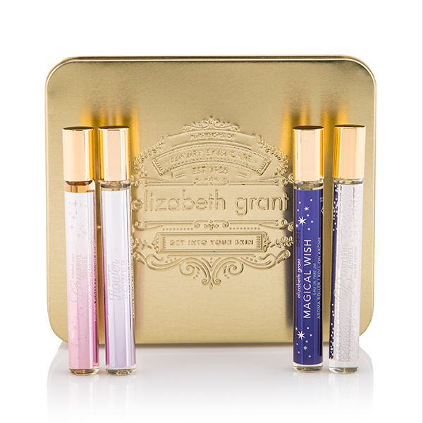 Elizabeth Grant Perfume Roller Collection 10ml (4 Pack) No Colour