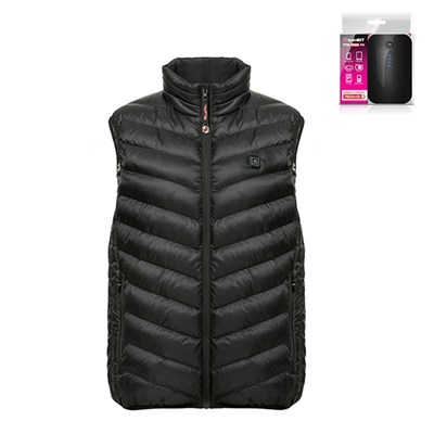 ThermoFusion Heated Gilet with 7800mAh Battery Pack