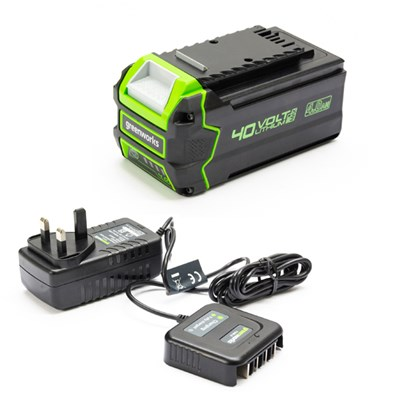 Greenworks 4ah Battery & Standard Charger