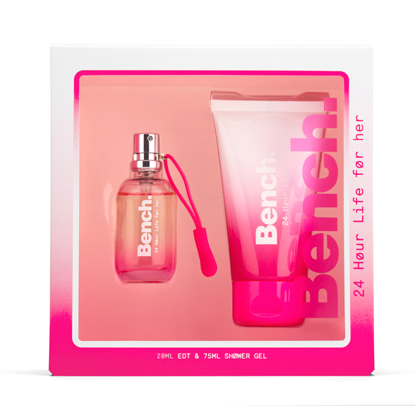 Bench 24 Hour Life Ladies 20ml EDP & Shower Gel 75ml Gift Set No Colour