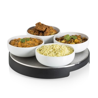 Swan Cordless Heated Lazy Susan