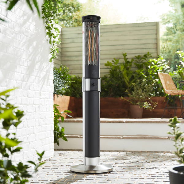 Swan Column Patio Heater No Colour