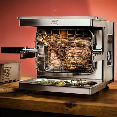 Beef Chef Gas Rotisserie Grill