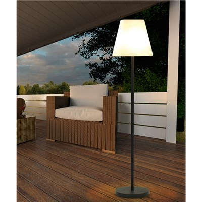 EASYmaxx Solar Powered Floor Lamp (USB or Solar)