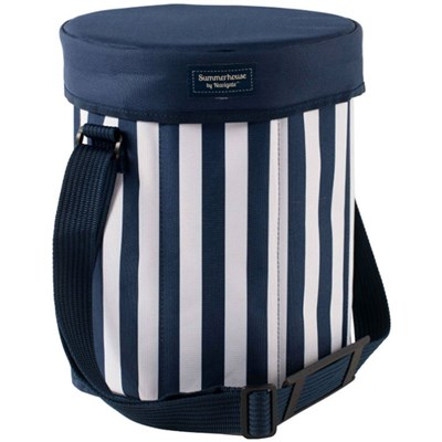 Navy Insulated Seat Cooler
