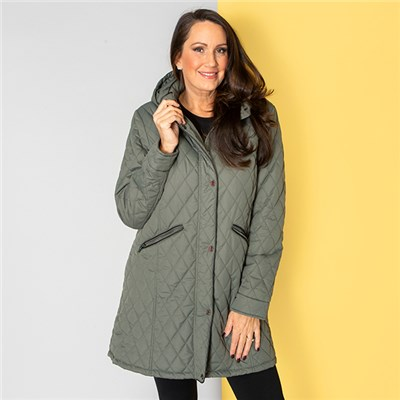 Stolen Heart Water Repellent Quilted Jacket