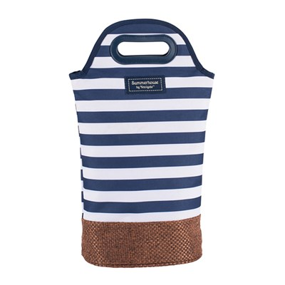 Insulated Bottle Carrier - Navy