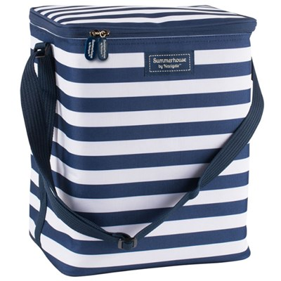 Navy Insulated Upright Family Cool Bag