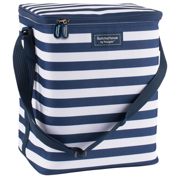 Navy Insulated Upright Family Cool Bag No Colour