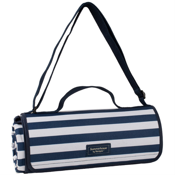 Extra Large Picnic Blanket - Navy No Colour