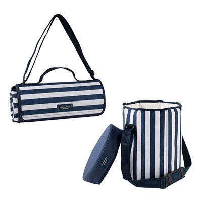 Extra Large Picnic Blanket & Seat Cooler Bundle