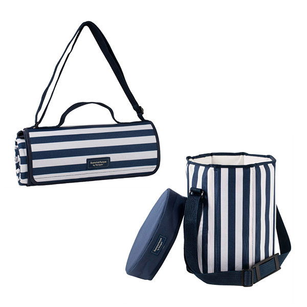 Extra Large Picnic Blanket & Seat Cooler Bundle No Colour