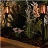 Solar Style Flickering Flame Solar Stake Lights Four Pack