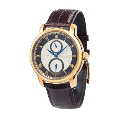 Thomas Earnshaw Gent's Longitude Multi Function Watch, Genuine Leather Strap