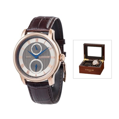 Thomas Earnshaw Gent's Longitude Multi Function with Genuine Leather Strap and Watch Box
