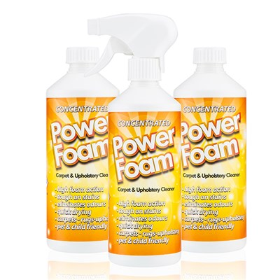 Carpet Power Foam 500ml (Triple Pack)