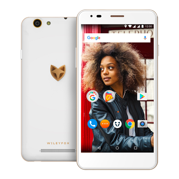 Open Box Wileyfox Spark X 4G 5.5inch Smartphone with 13MP Camera, 16GB Storage, 2GB RAM and Dual Sim White