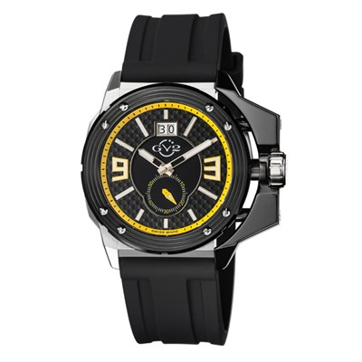 GV2 Gent's Grande Ltd Edt Swiss Watch with Silicone Strap & Pen