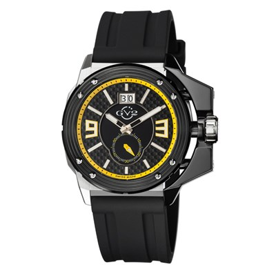 GV2 Gent's Grande Ltd Edt Swiss Watch with Silicone Strap