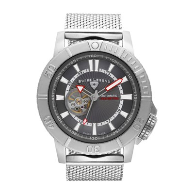 Swiss Legend Gent's Atlantis Automatic Watch with Stainless Steel Bracelet