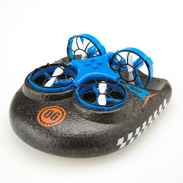 Hover Blast 3 in 1 Air, Land and Sea Drone Blue