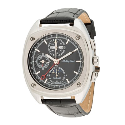 Mathey-Tissot Gent's Ltd Edt (to 12pcs) Lord ETA Valjoux 7751 Chronograph Watch with Genuine Leather Strap and Accessories