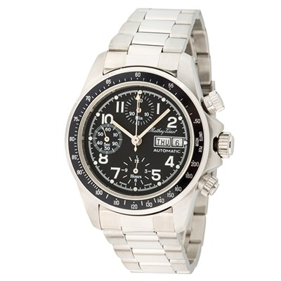 Mathey-Tissot Gent's Ltd Edt (to 10pcs) Lord ETA Valjoux 7750 Chronograph Watch with Stainless Steel Bracelet and Accessories