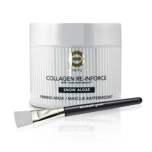 Elizabeth Grant Supersize Collagen Snow Algae Firming Mask 200ml with Brush No Colour