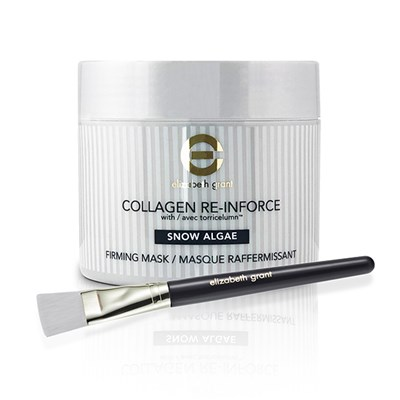 Elizabeth Grant Supersize Collagen Snow Algae Firming Mask 200ml with Brush