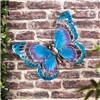 Butterfly Wall Art (Metal & Glass) - Model G3564
