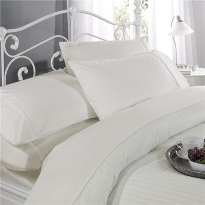 Dorchester Ritz T300 Satin Stripe Duvet Set (Single)