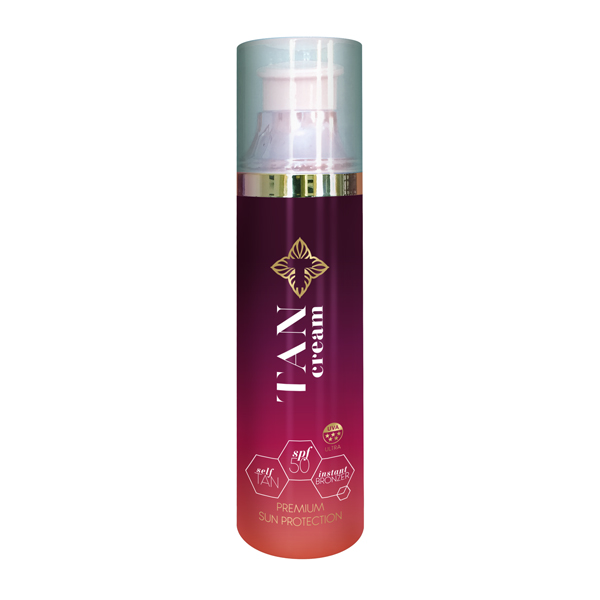 Tancream All in One Self Tan, Bronzer and SPF50 100ml No Colour
