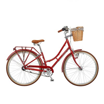 Ryedale Scarlet Strawberry 28in Wheel 3 Nexus Speed Heritage Ladies Bike