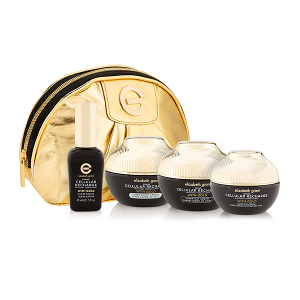 Elizabeth Grant Caviar 4 Piece Collection with Bonus Gold Cosmetics Bag No Colour