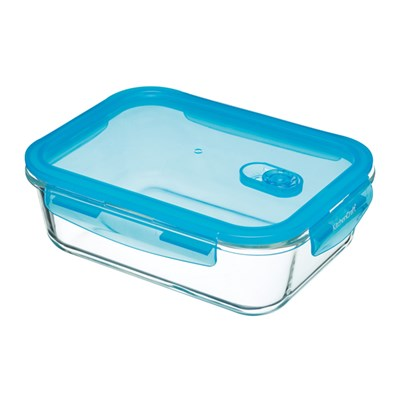 KitchenCraft Pure Seal Leak Proof Glass Food Storage Container 1.5L