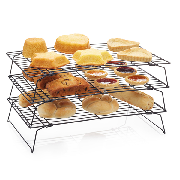 KitchenCraft Non-Stick Three Tier Cooling Rack No Colour