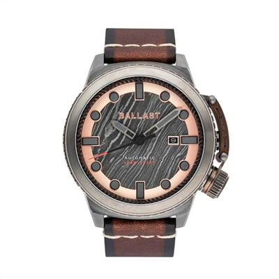 Ballast Gent's Trafalgar Triumph Automatic Watch with Genuine Leather Strap